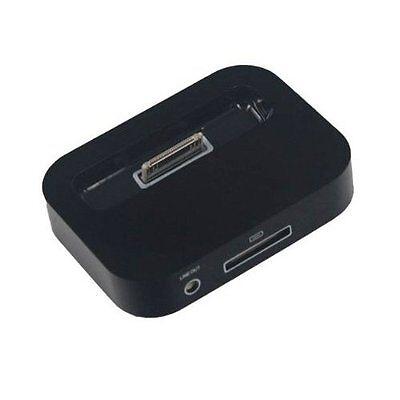 Black Dock Station Cradle - Black Sync Dock Station Cradle Charger Stand Holder for Apple iPhone 4 4G 4S New