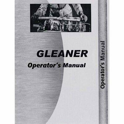 Operators Manual - F3 Gleaner F3 F3