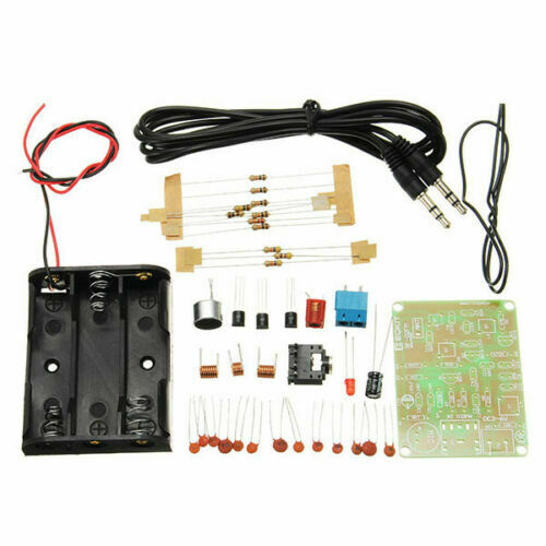 DIY Fm Transmitter Kit RF-02 Wireless Microphone Parts MP3 R