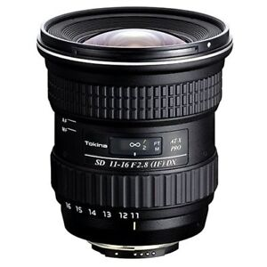 Zoom Lens Tokina 11-16 f2.8 AT-X Pro DX (Canon)