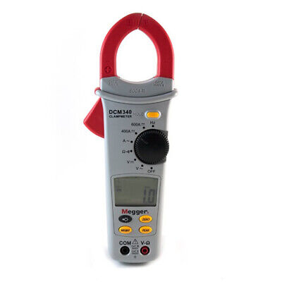 Megger Dcm340-en 1000-305 Digital Clamp Meter 600 A 600 V Acdc