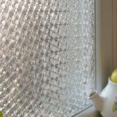 Adesivo per finestre Privacy 67003 Pellicola da Finestra senza colla, Prismat...
