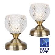 Brass Bedside Lamps