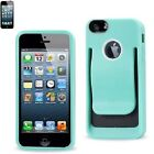 Blue Clip Case for iPhone 4