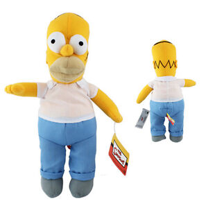 The Simpsons Homer Simpson 36cm Soft Plush Stuffed Doll Toy