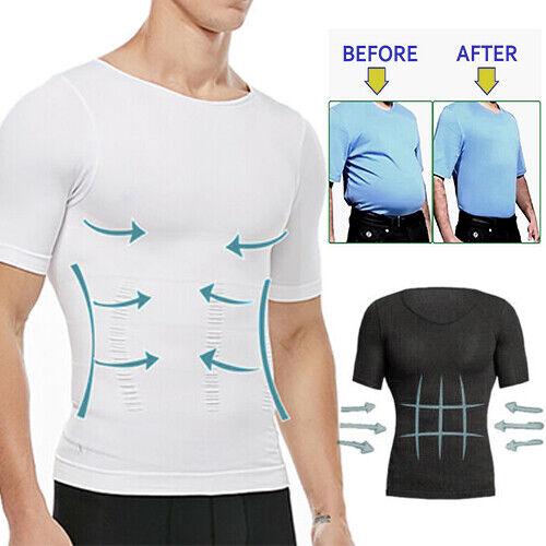 Men's Slimming Body Shaper Posture Corrector Vest Abdomen Co