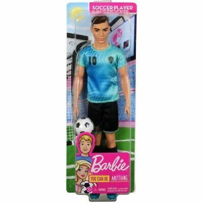 Barbie Careers Ken Doll Soccer Player