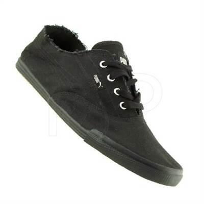 Puma Tekkies Brites Black Sneakers Trainers Casual Shoes Unisex Plimsolls (B5)