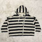 Ann Taylor Cotton Striped Hoodies & Sweatshirts for Women