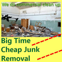 Junk and garbage cleanup service