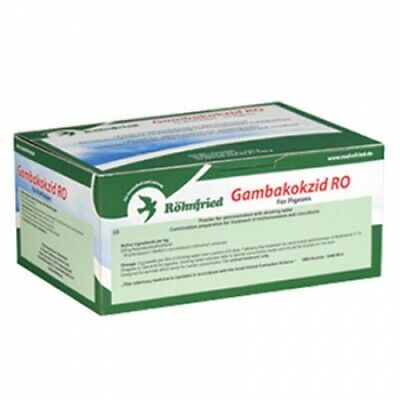 Top Flight Pigeon Gambakokzid  30 x 25g Trichomoniasis and Coccidiosis BMFD