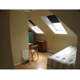 Newly Decorated Top Floor Loft Bedsit To Rent Avenue Gardens, Acton Town, London W3 8HA