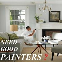 Painters that take pride in our work Visa & Mastercard accepted