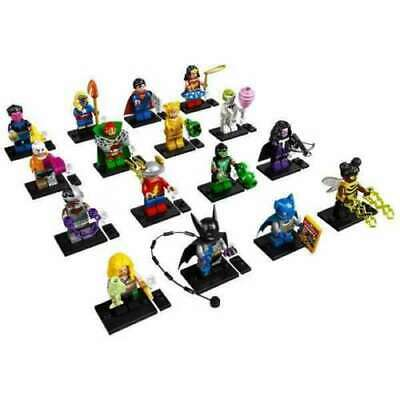 LEGO DC COLLECTIBLE MINIFIGURES SET of 16 open PACKS 71026 cmf super heroes