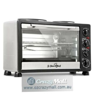 34L Large Capacity Benchtop Convection Oven