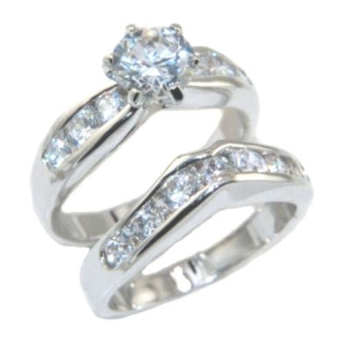 Wedding Rings White Gold Size 8