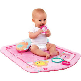 Bright Starts - Prop and Play Mat, Little Blooms