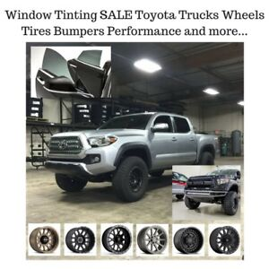 WINDOW Tinting SALE Toyota Tacoma Tundra Open Late TODAY