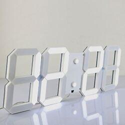 ❤ Silent Wall Clock Count Chihai Multifunctional Jumbo Led Digital Clo