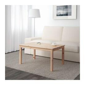 IKEA NORNÄS pine coffee table