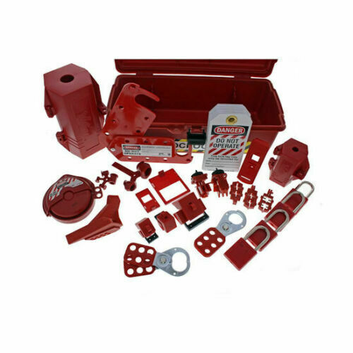 Ideal 44-974 Industrial Lockout Tagout Kit - New OSHA Required