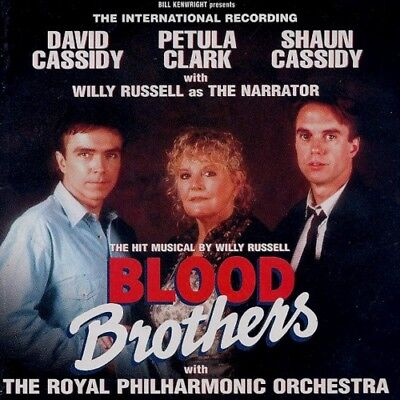BLOOD BROTHERS MUSICAL SEALED CD DAVID+SHAUN CASSIDY PETULA CLARK WILLY RUSSELL ()