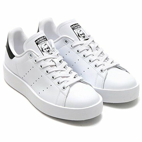 Adidas Originals Women's Stan Smith Bold - White Black / S75213 / Shoes  Sneakers