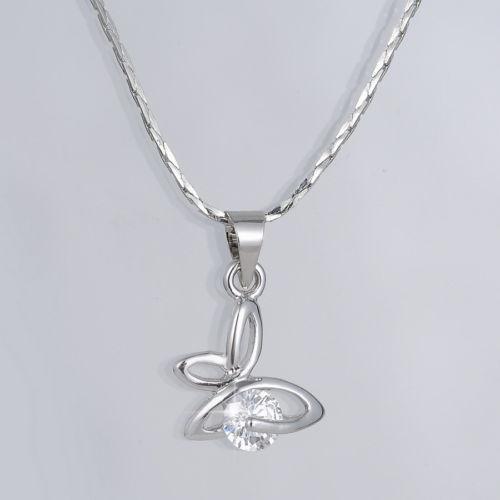 white gold necklace ebay