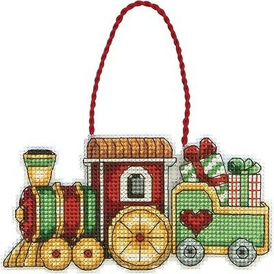 Dimensions Susan Winget Train Ornament Counted Cross Stitch Kit - 050940