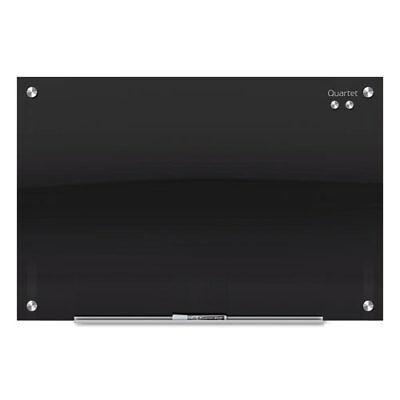 Infinity Black Glass Magnetic Marker Board 72 X 48