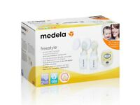 Medela Freestyle Double Breast Pump with Calma Teat (NEW IN BOX)