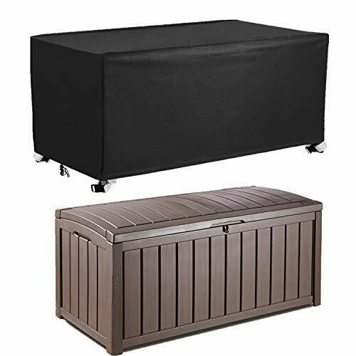 """Patio Deck Box Cover to Protect Large Deck Boxes 62""""L x 30""""W"""