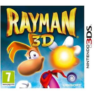 Rayman 3D Game For Nintendo 3DS NEW & SEALED