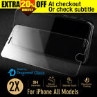 Tempered Glass Clear Mobile Phone Screen Protectors for Apple iPhone 5
