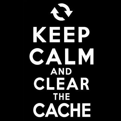 Keep Calm And Clear The Cache  Browser Chrome Programmer Firefox Hacker  T Shirt