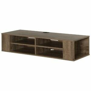 """South Shore 50"""" TV Console Wall Mount - Weathered Oak Model #: 9062675"""