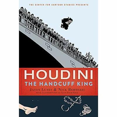 Houdini: The Handcuff King - Paperback / softback NEW Lutes, Jason 24/09/2019