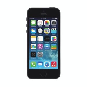 Apple iPhone 5S, 16GB, Space Gray, Bell/Virgin Mobile