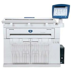 "36"" Xerox 6604 Wide Format Laser Engineering Monochrome Printer Copier Colour Scanner REPOSSESSED Only 70k Square foot"