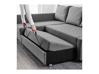 IKEA Friheten dark grey corner Sofa-Bed