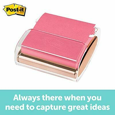 Post-it Pop-up Note Dispenser Rose Gold 3 X Wd-330-rg