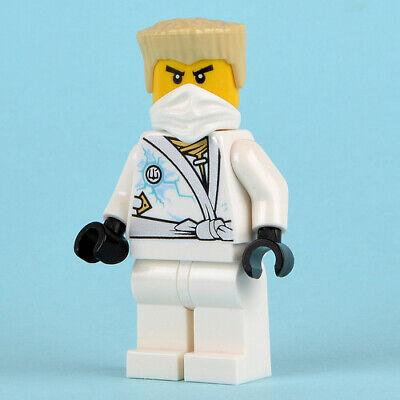 Lego ninjago Zane rebooted minifigure -  FREE POST