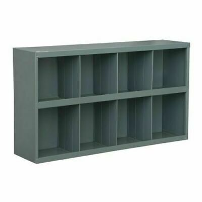 Steel Bin Shelving 8 Pigeonhole Compartments Parts Fittings Shop Storage Garage