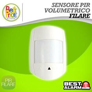Sensore di movimento pir filare volumetrico allarme - Allarme volumetrico esterno ...