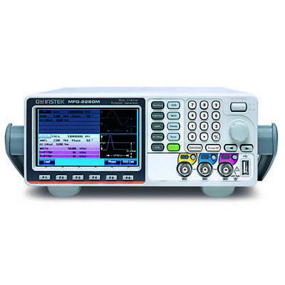 Instek Mfg-2260m 60 Mhz Dual Ch. Arb. Function Generator Wpulse Gen
