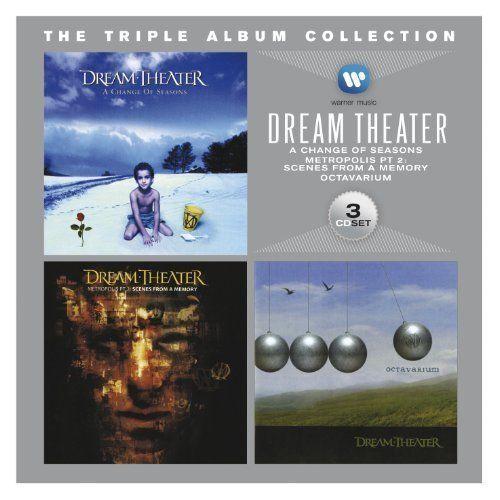 DREAM THEATER 3CD NEW A Change Of Seasons/Metropolis Pt 2 Scenes From/Octavarium