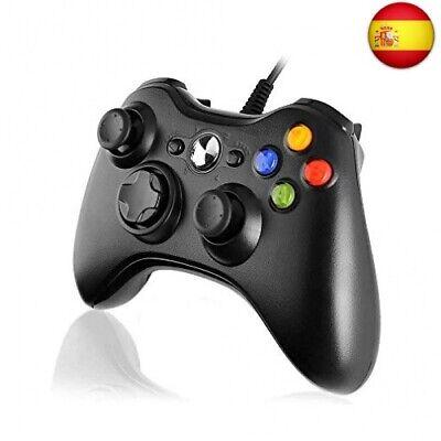 Diswoe Xbox 360 Mando de Gamepad, Controlador Mando USB de Xbox 360...