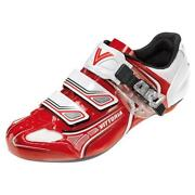 Red Cycling Shoes
