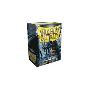 100-Dragon-Shield-Black-Protective-Sleeves-Sealed-Magic-MTG-FREE-SHIPPING