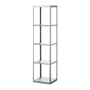Ikea GRUNDTAL Shelving Unit - Stainless Steel